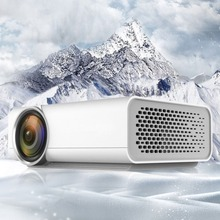 YG520 Home Micro Projector, Mini Miniature Portable, 1080P HD Projection, Mini LED Projector, For Home Theater Entertainment