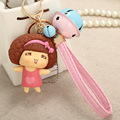 Cute Mocmoc Girl Pure Love Keychain Pendnat For Girl's Gift Bag Charms Toy Ornament 10 Patterns Available
