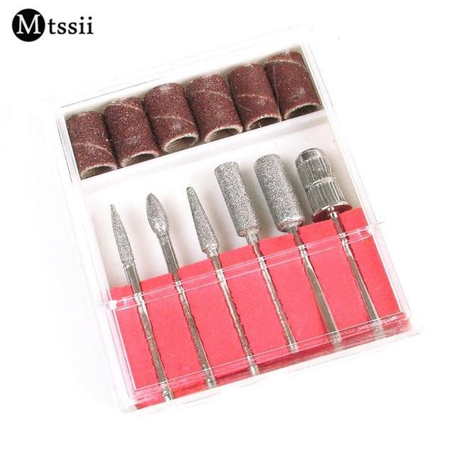 Mtssii 6 Stks/set Professionele Nail Art Machine Nail Gereedschap ...