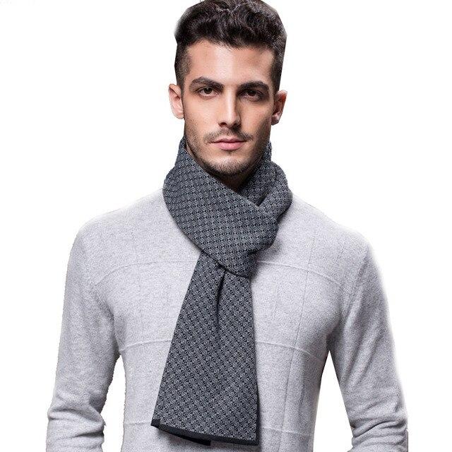 [Ode To Joy ]2016 Winter man Scarf soft and warm Twill Wool men Scarves  shawl Luxury Brand high quality