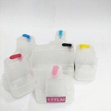 vilaxh for hp177 Empty Refillable ink cartridges For HP Photosmart 3210 D7460 C5100 C5140 C5183 C6270 C6280 C6180 C6183 C7170