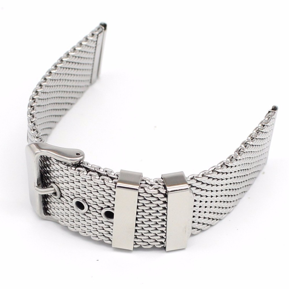 Milan for DW stainless steel strap mesh strap strap with belt buckle universal iwatch