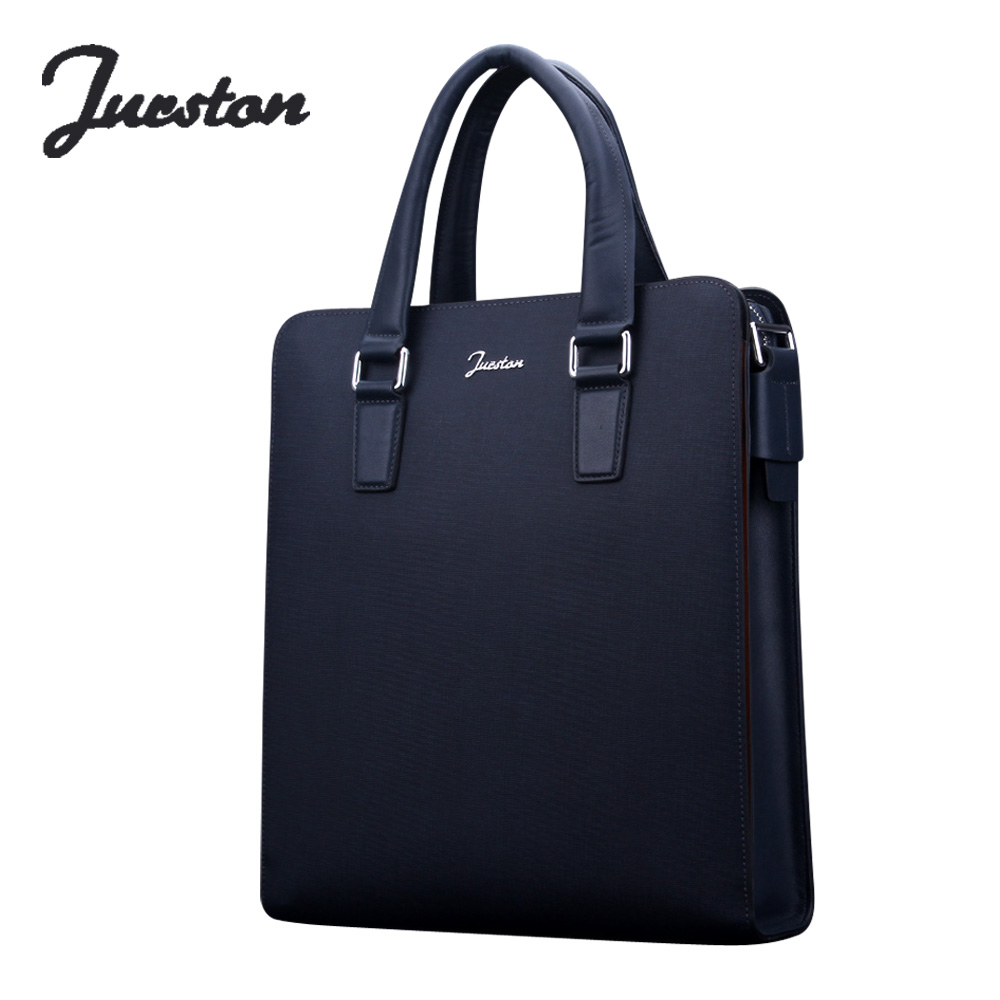 new 2017 man commercial male handbag, genuine leather shoulder bags,men's casual bag leather briefcase Fashion Cowhide handbags