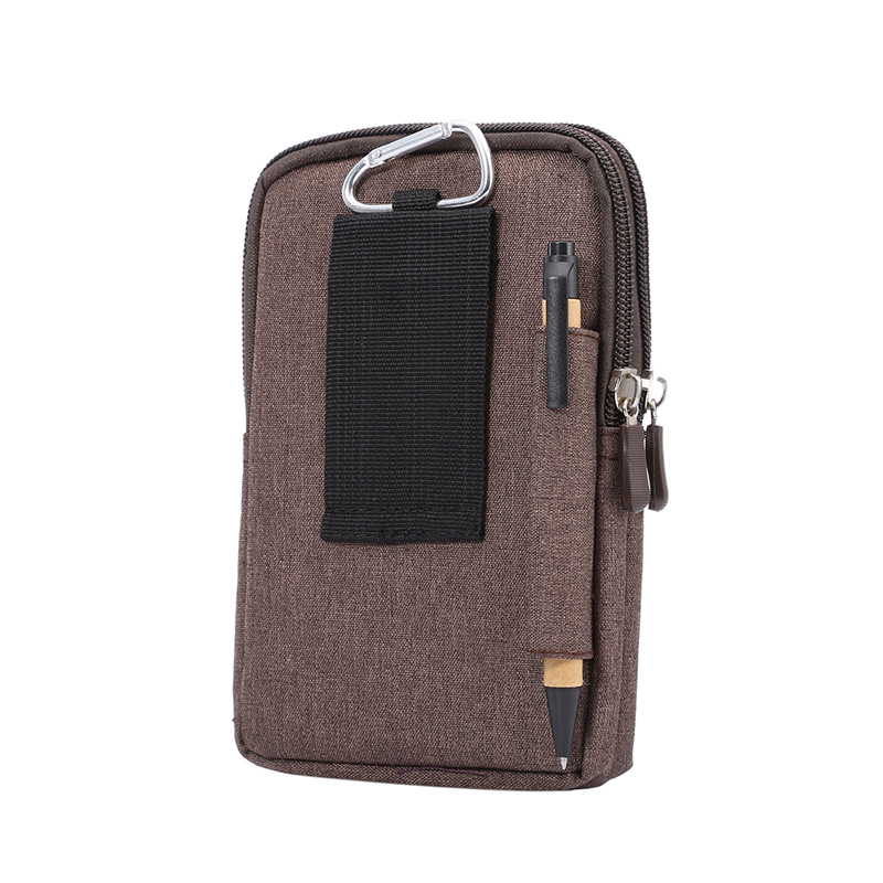 4ec8a8679438 ... Universal Case For Phone Holster Hip Belt Bag For Huawei P Smart Honor  6A 6X 6C