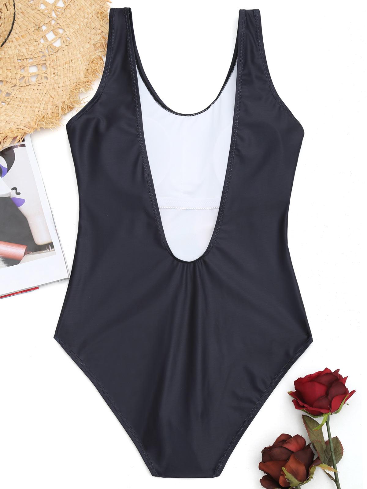 Belleziva Cartoon Flamingo Women Bathing Suit Beach Swimwear Sexy Bodysuit One Piece Swimsuit Biniki Wireless Padded Animals 1