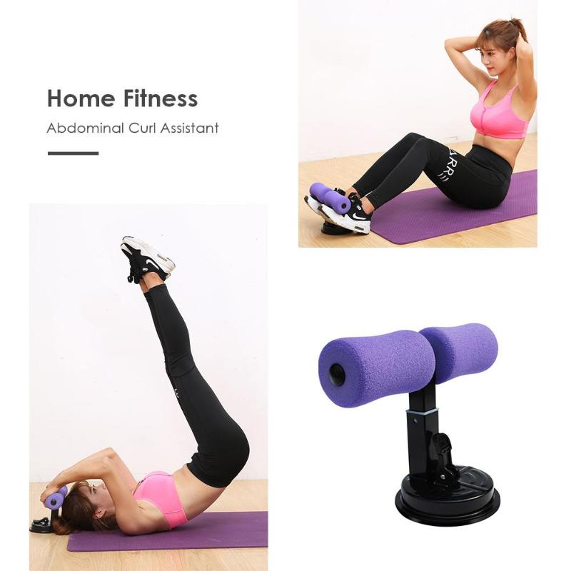 Gym workout abdominal curl exercise sit ups push ups assistant