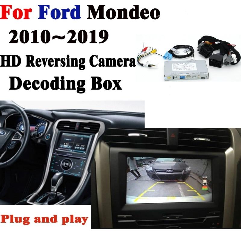 Achteruitrijcamera Voor Alfa Romeo Giulia Stelvi 2010 ~ 2019 adapter Originele Screen Upgraden systeem Display Revers camera Decoder-in Camera voor een voertuig van Auto´s & Motoren op title=