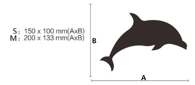 Neue DIY Kreative Kunst Wohnkultur 3D Dolphin Spiegel Wandaufkleber Acryl Wand Fliesen Wandtattoos Fr Kinder Wohnzimmer Veranda