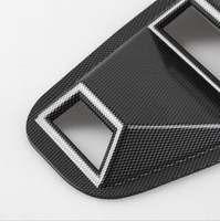 1 Pair Side Window Louvers For 15 18 Ford Mustang Air Vent Car Styling Exterior Wind Net Accessory Decoration Sticker 4 Outlet