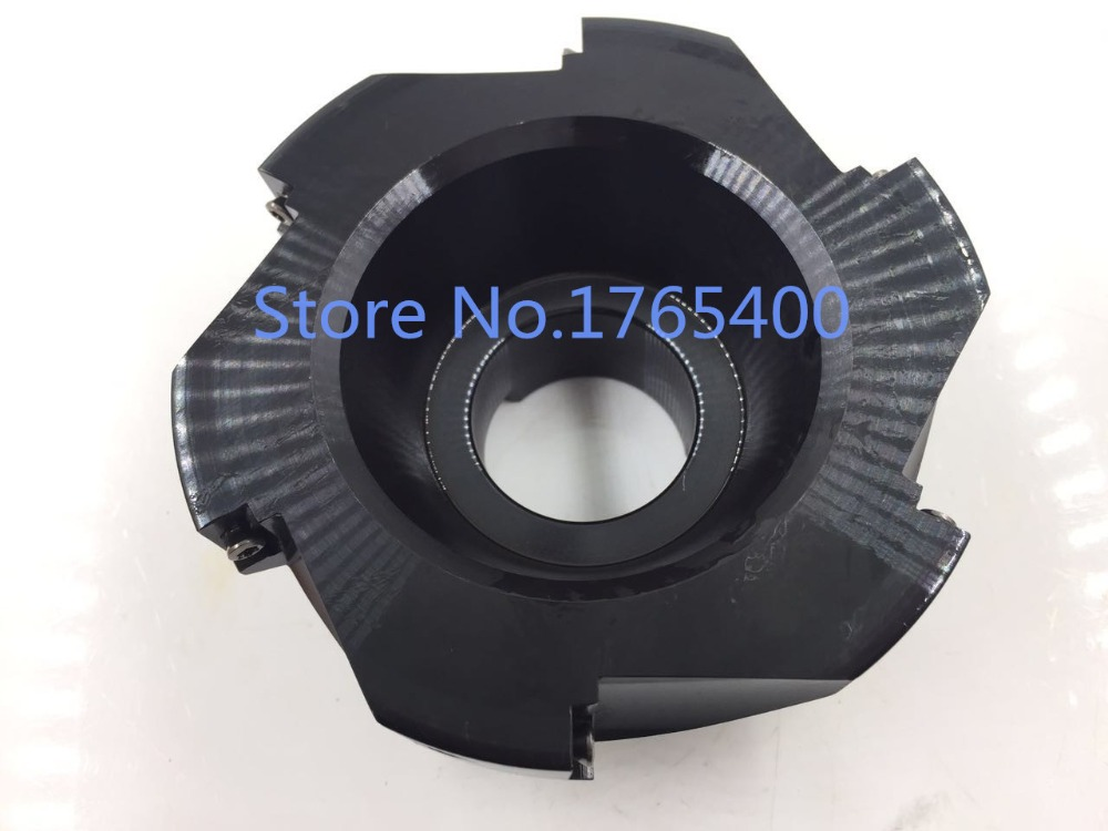 Купить с кэшбэком New 1pcs 200MM 10 flute BAP400R 200-60-10T  Face End Mill CNC Milling Cutter