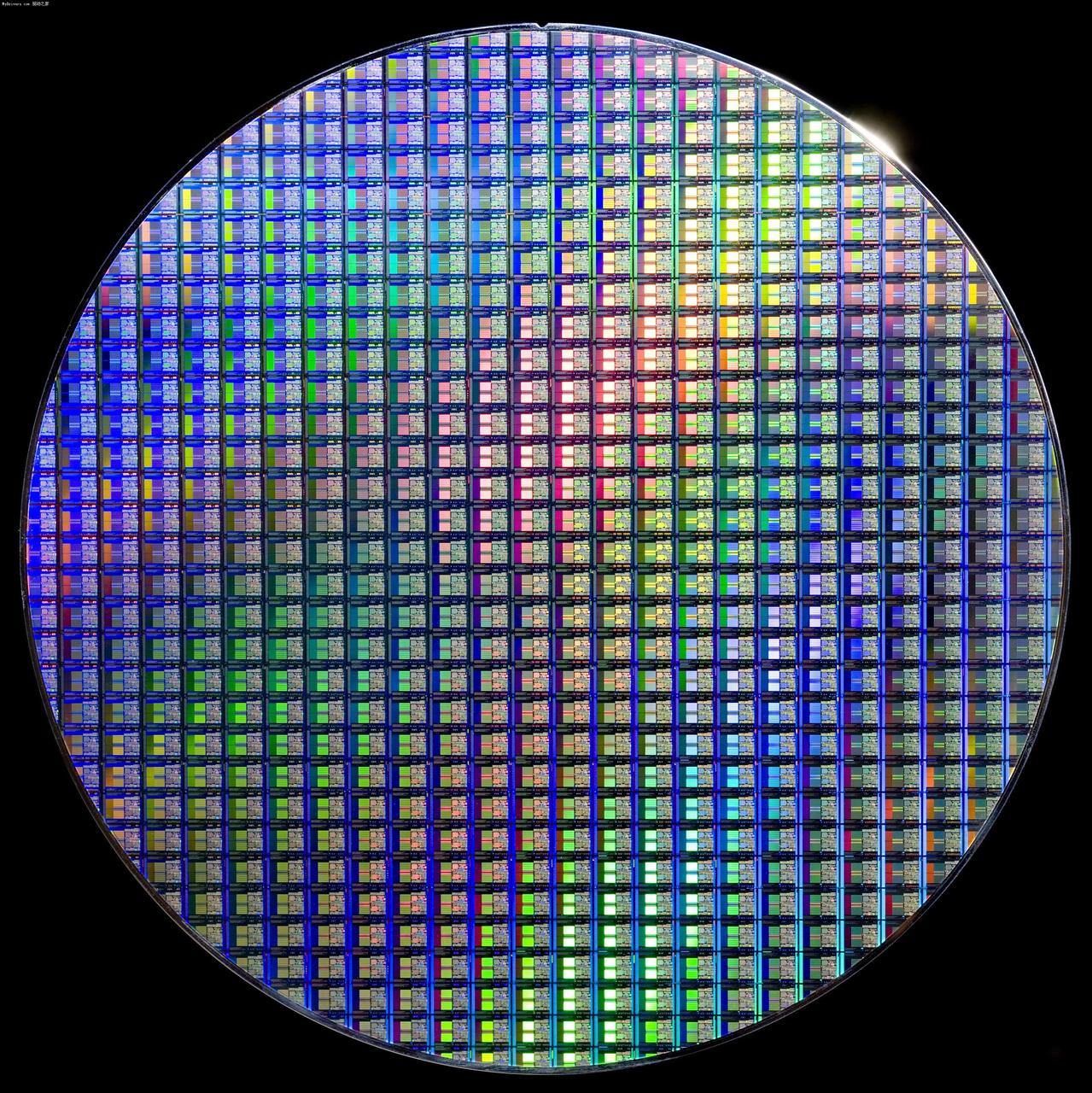 4 6 8 Inch Silicon Wafer Integrated Circuit Uncut Geek Toy