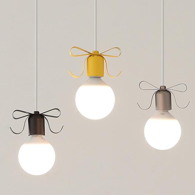 Moderne Simple Coloré En Métal Plafond Lampe Luminaire Suspendu ...