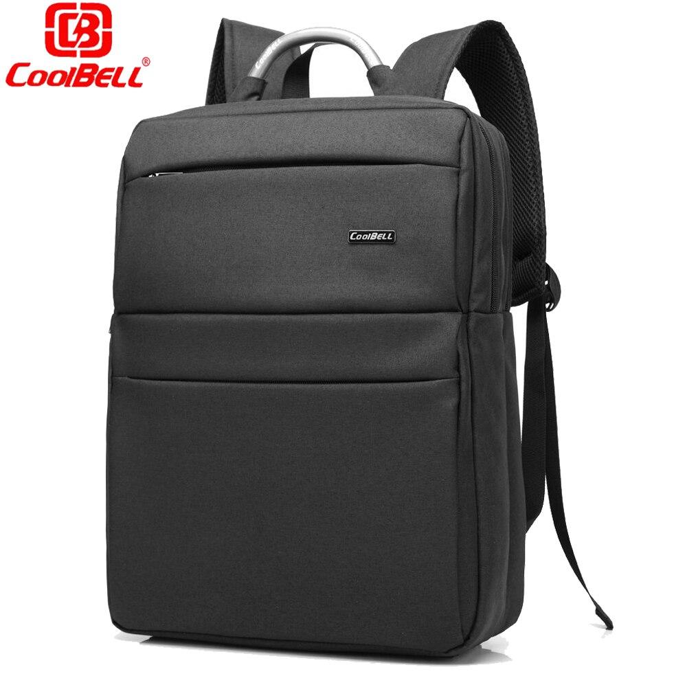 ФОТО Hot Sale Laptop Backpack Waterproof Men's Back Pack 15.6 Inch Laptop Bag Mochila High Quality Designer Backpacks Male Escolar