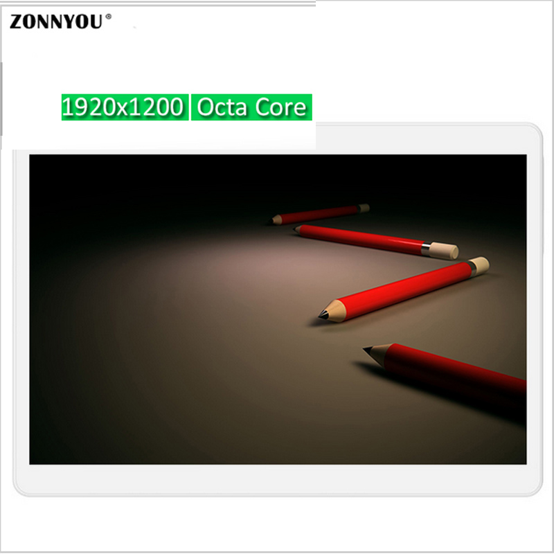 10 1 inch Tablet PC Octa Core 4G 3G Call Tablet PC 32GB Resolving 1920 1200