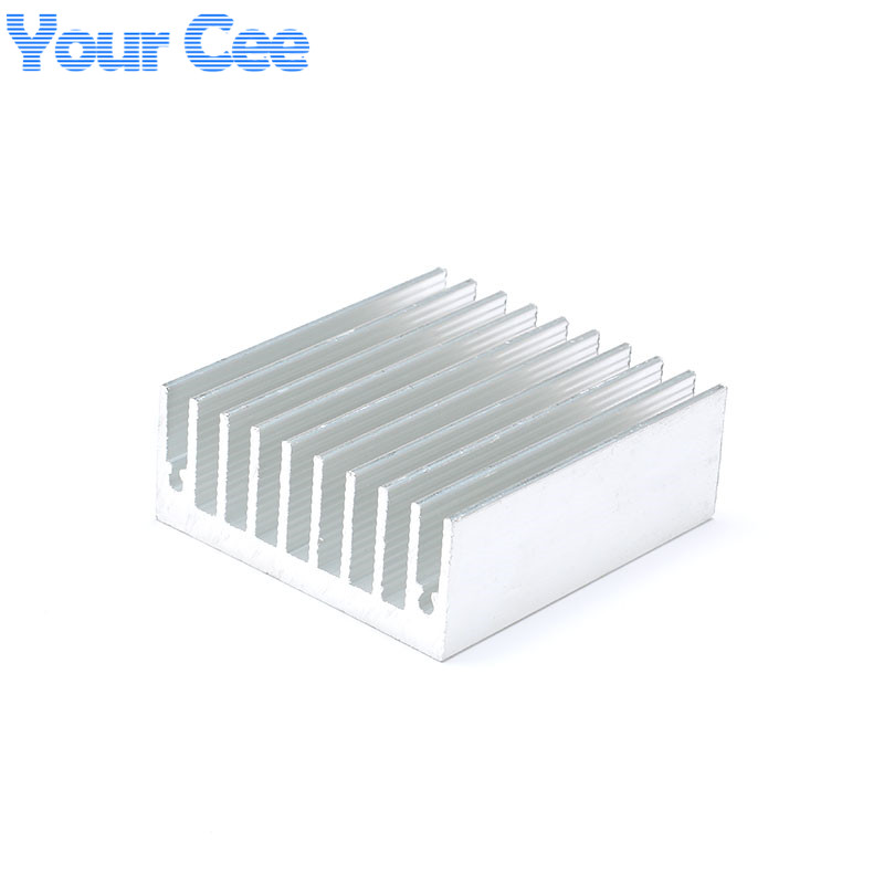 1 pc <font><b>50</b></font>*45*18mm Heatsink Cooling Fin <font><b>Cooler</b></font> Radiator Aluminum Heat Sink for LED, Power IC Transistor, Module PBC 50X45X18mm image