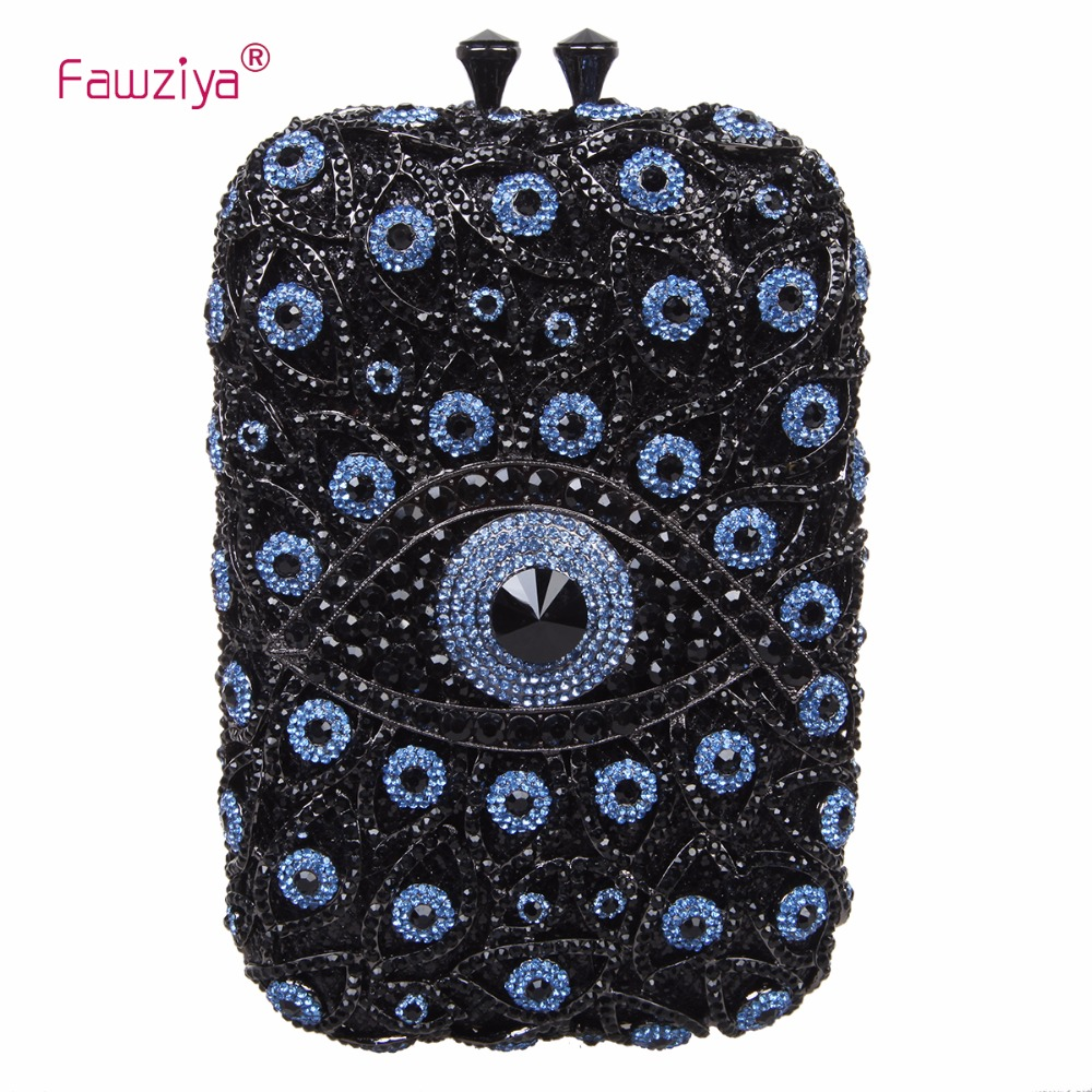 Fawziya Bag Small Eye Shape Purses And Handbags Wholesale Bags For Girls fawziya bag rhinestone 15cm luxury natural stone purses and handbags for womens bags