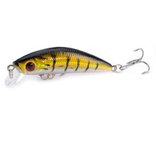 1PCS Fishing Lure Minnow Crankbait Hard Bait Tight Wobble Slow sinking Jerkbait Fishing Tackle walk fish 1pcs 8cm 10g fishing lure hard bait carp fishing fresh water insect bait fake lure fishing jerkbait minnow crankbait