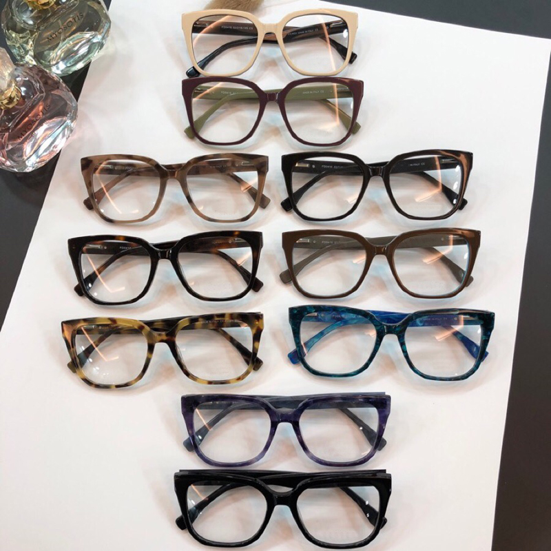 New York Vintage Cat Eye Eyeglasses Frames glasses men and women 0416 Fashion Glasses Computer Optical Frame with Box image