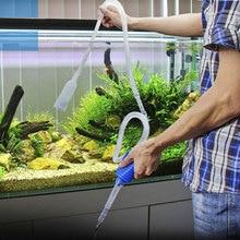 Очиститель аквариума, инструмент для вакуумного изменения воды, сифон, гравия, всасывающий фильтр-аквариум, масляный насос для вина, фильтр