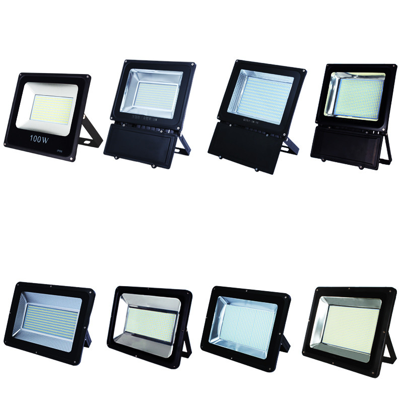 Profession waterproof LED flood light 50W 100W 200W Garden Playground Factory workshop lights indoor / outdoor lighting 220V ultrathin led flood light 200w ac85 265v waterproof ip65 floodlight spotlight outdoor lighting free shipping