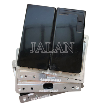 Nuevo SM-G975F G973 YMJ molde laminado para Samsung S10 plus S10 + lcd pantalla táctil molde laminado de vidrio OCA + caucho flexible