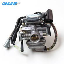 KEIHIN 24mm GY6125cc/150cc (157QMJ/152QMI) Engine Carburetor PD24J With Electric Choke For ATV Motorcycle Scooter Free Shipping