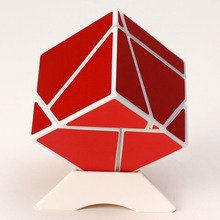 New Fangshi FunS 2x2 Ghost Cube and MoYu 3x3x3 Weilong GTS Magic Puzzle Stickerless Learning Educational