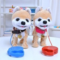 Children S Electronic Pets Dogs Usb With Sound And Walk Can Do Many Action Good Friend