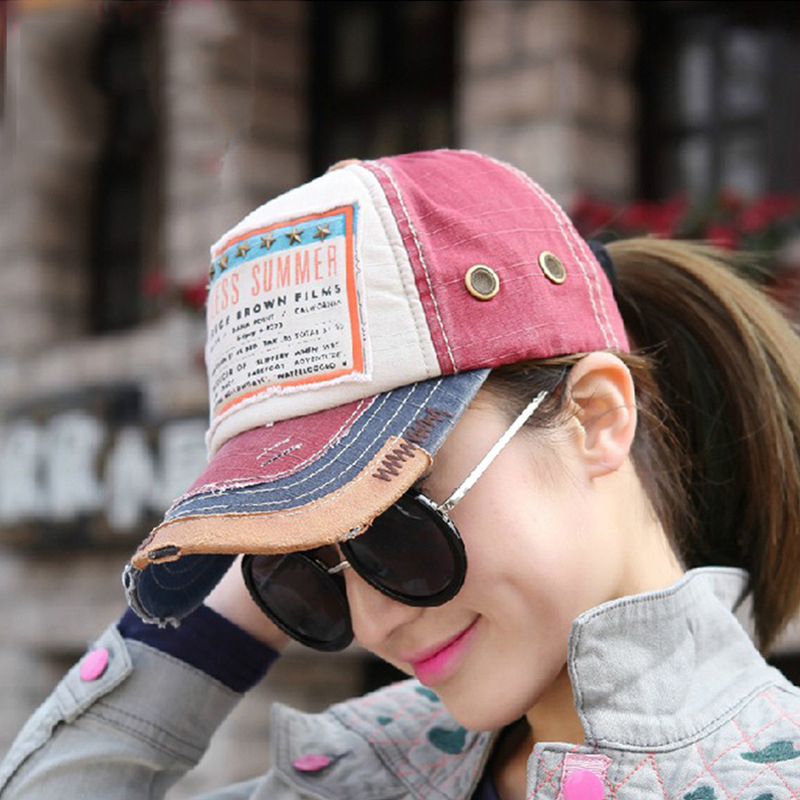 Chapeu niñas vaquero snapback verano brand caps gorras occidentales mujer y  accesorios gorra raiders sol sombreros de playa vaqueros lavado H90 en  Disfraces ... 44985ef189f