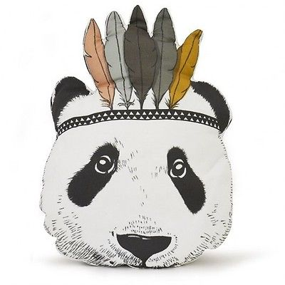Baby Kid Child Stuffed Toy Pillow Bed Sofa Decor Indian Panda Cushion For Gift