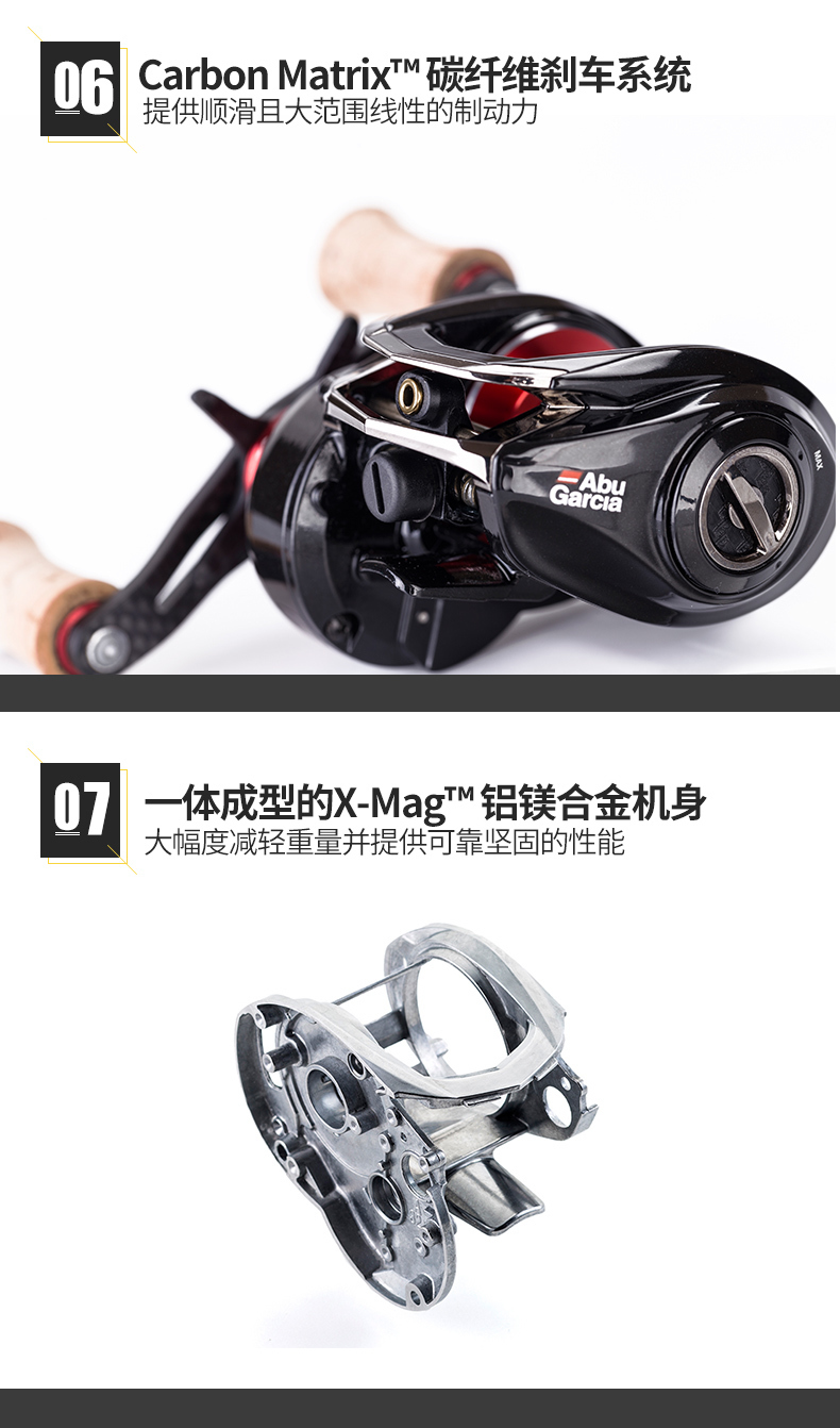 Baitcasting Fishing Reel 127.5g 8