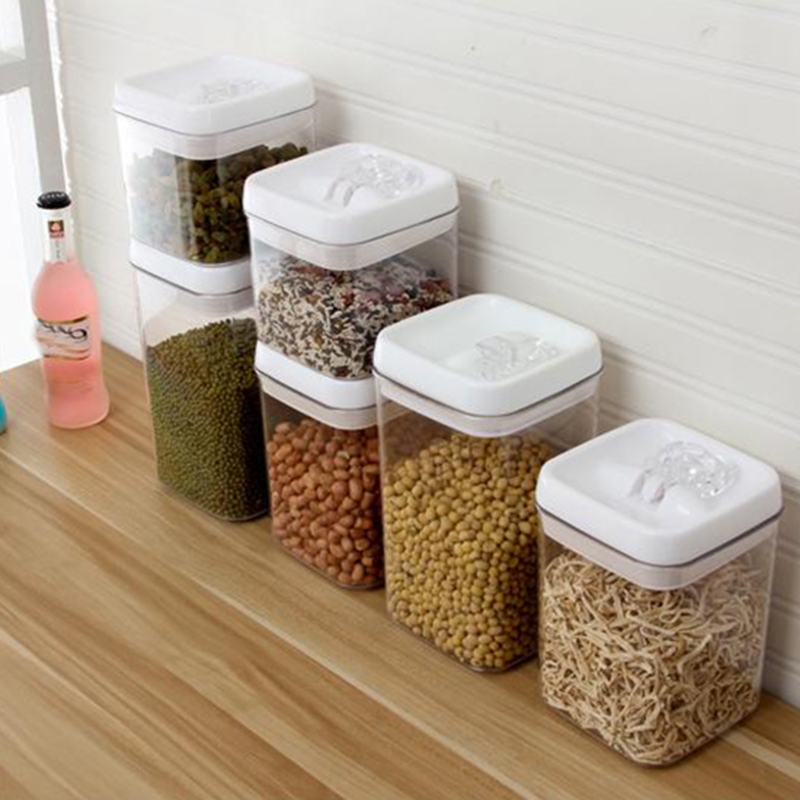 13L18L23L Kitchen Food Storage Box Seal Clear Easy Buckle