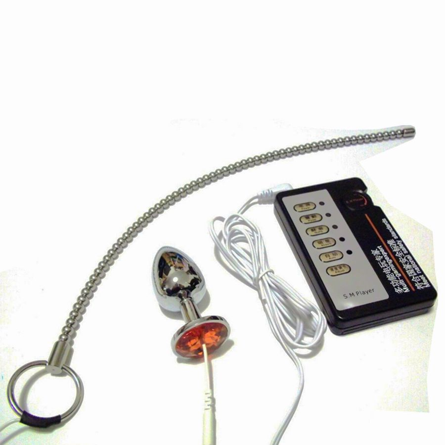 ФОТО Medical Themed Toys Kits,Electric Shock sounding urethral, Electro Shock Anal Butt Plug Sex Toys