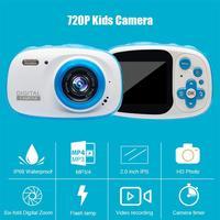 2 inch Children Camera Bluetooth 720P IP68 Waterproof 6X Digital Zoom Cam educational mini camera birthday gift cool kids