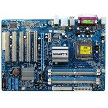 Для Gigabyte GA-P43-ES3G REV 1,0 1,1 оригинальная б/у материнская плата P43-ES3G P43 LGA 775 DDR2(желтый синий случается