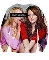 Moda unissex mulheres / homens 3D Trust No cadela Regina George Mean Girls CREWNECK camisola suam Rachel McAdams Hoodies Jumper