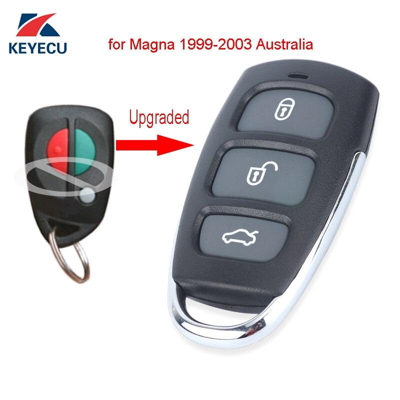 keyecu upgraded remote car control key fob 304mhz for. Black Bedroom Furniture Sets. Home Design Ideas
