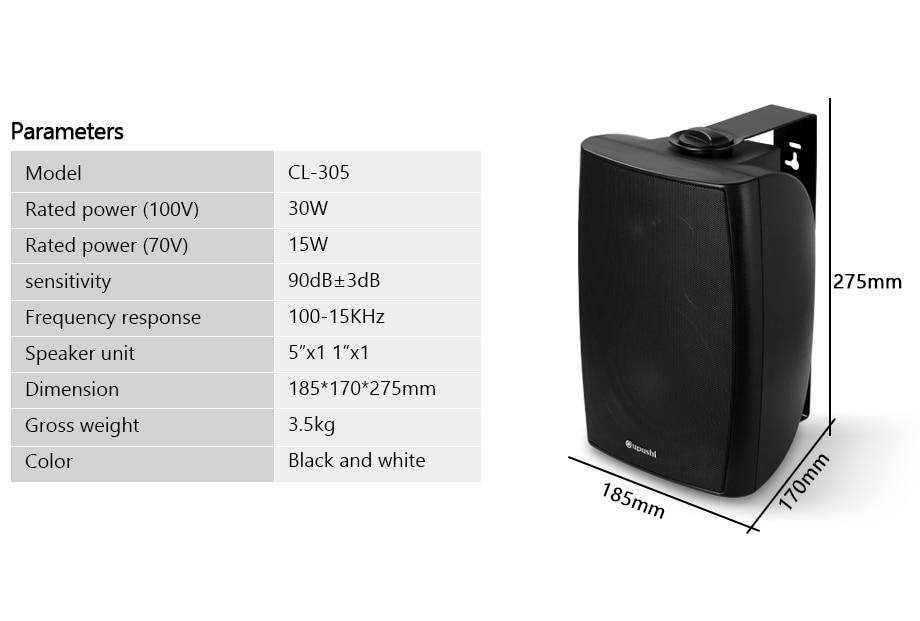 speaker 30w