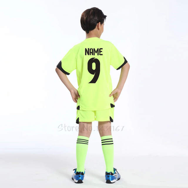 placeholder football jerseys kids survetement football 2017 customized  soccer uniforms youth football kits Soccer set tracksuits new 15c636252