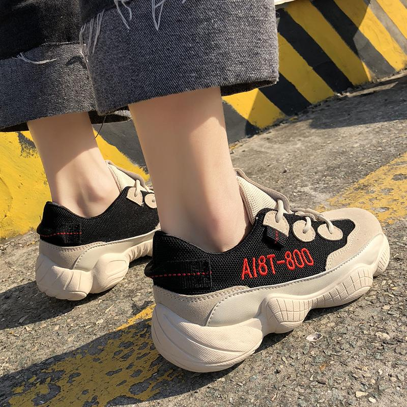 1 40 Femmes forme Chaussures Femme Plate 5 3 Appartements Papa Lace Casual 2 2018 Taille Wedge Mode Up Nouvelle 4 6 35 Wayfarer Sneakers HwrxTqH
