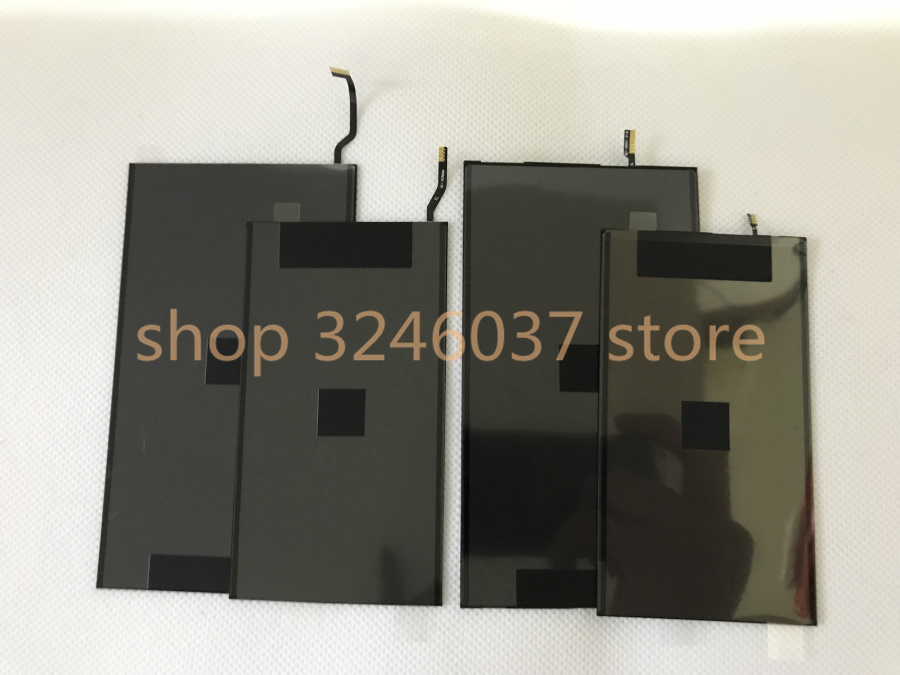 5pcs/Lot AAA LCD display Single Backlight Film (No have 3D) for iPhone 6s plus 7 7plus Back Light Refurbishment Replacement image