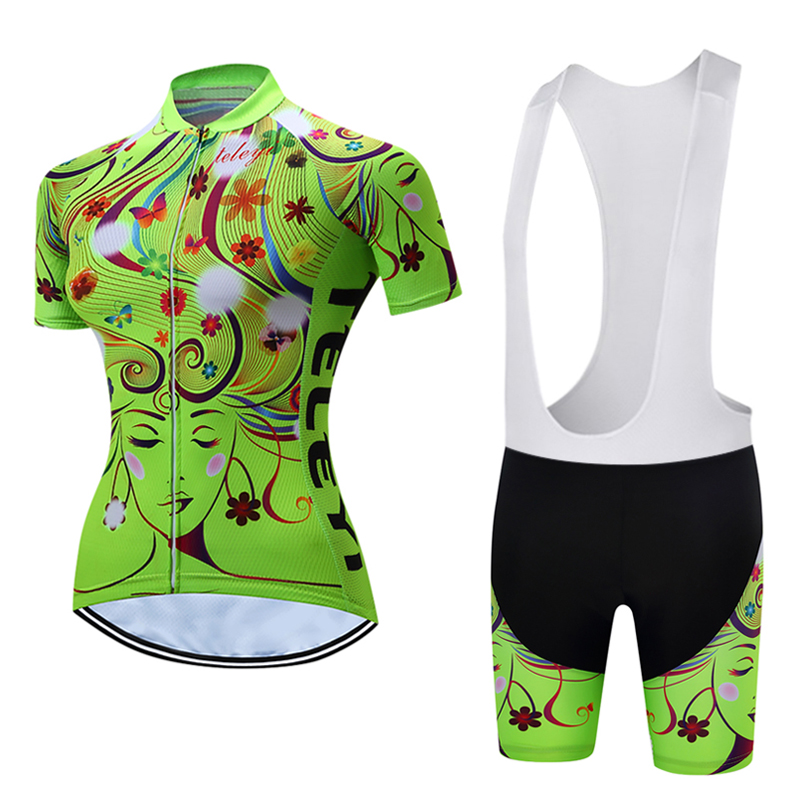 Good quality! Short Sleeve Cycling Clothing Women's Bike Jersey Wear Female Triathlon Maillot Women Summer Bicycle Clothes Top 176 top quality hot cycling jerseys red lotus summer cycling jersey 2017s anti uv female adequate quality sleeve cycling clothin