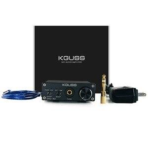 Image 5 - KGUSS DAC K3 MINI HiFi 2.0 Digital Audio Decoder DAC Ingresso USB/Coassiale/Ottica di Uscita RCA/Amplificatore Per Cuffie 24Bit/96 khz DC12V
