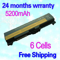 High Capcity Black 6 Cells Laptop Battery FOR LENOVO FRU 42T4751 FRU 42T4797 42T4753 ASM 42T4752