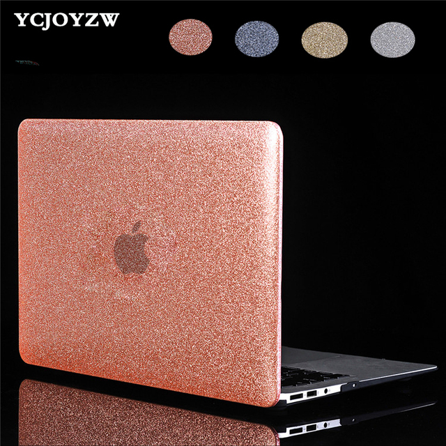 New Case for Macbook New Air 13 Pro Retina 11 12 13 15 inch with Touch Bar , YCJOYZW - Logo Shine Laptop Case+Screen film