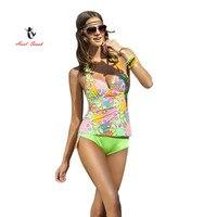 Ariel Sarah Brand 2017 New Push Up Bikinis Set Tankini BeachWear Bathsuit Swimwear Woemen Swimsuit Biquini
