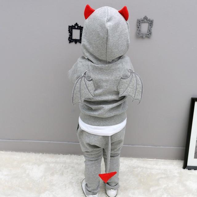 Baby boy clothes winter clothes set baby children cotton 2pcs long sleeve+pants set cartoon children tracksuits kids Novelty