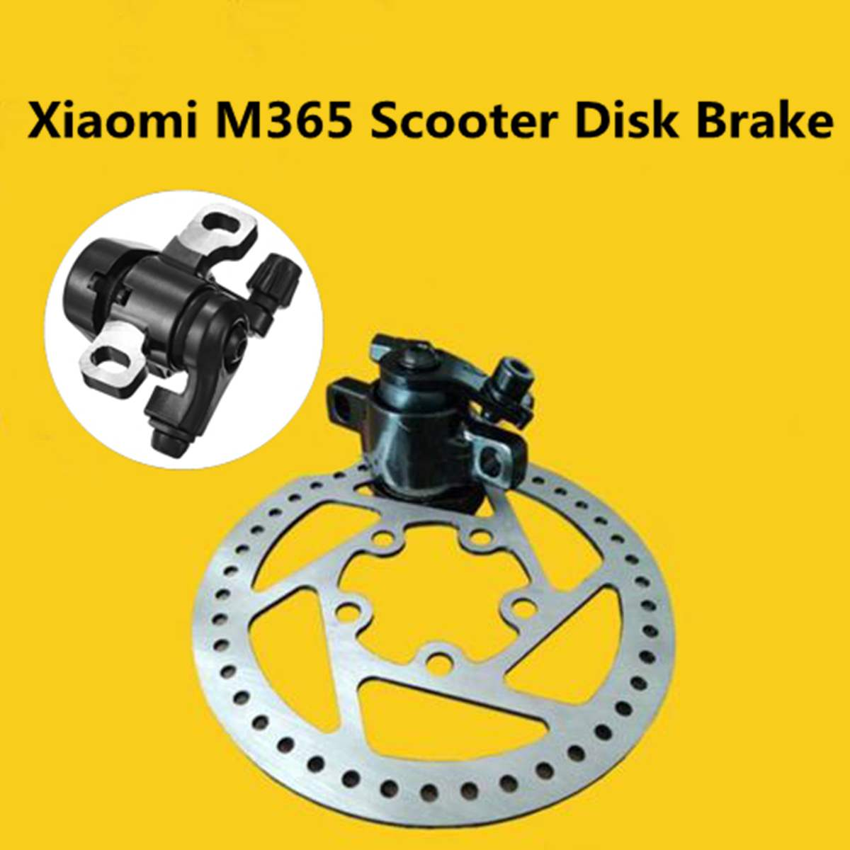 Electric Scooter Brake Disc Rotors Pads Replacement Parts for Xiaomi Mijia  M365 Breaks Block Replacement Parts