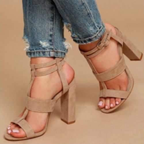 Plattform Sandalen Schuhe Frauen SOMMER STIL Hohe Ferse Lässig Offene spitze Plattform Gladiator Trifle Sandalen Keile Schuhe Für Frauen
