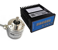 Professional Multi Turn Absolute Optical Rotary Encoder with SSI DRO Signal Digital Readout Set equivalent of PLC Coding